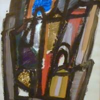 Boldrini - Paesaggio con collage