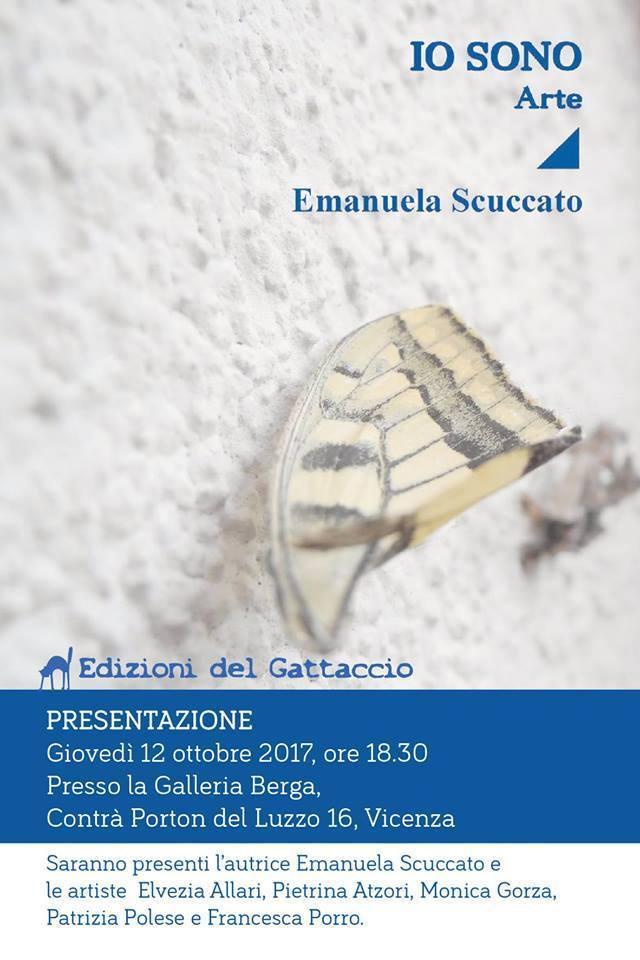 """""""IO SONO. Arte"""" Presentazione libro in Galleria Berga"""