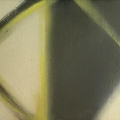 Claudio Olivieri, Costrutto, Olio su tela, 1976, 60 x 40 cm
