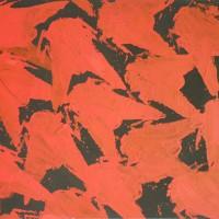 Sergio Ragalzi, Insetti rossi, Olio su tela, 1990, 80×100 cm